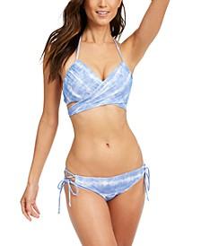 Simone Wrap Halter Bikini Top & Kylie Strappy Bikini Bottoms, Created for Macy's