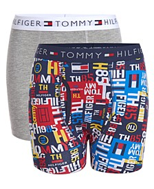 Big Boys 2-Pack Graphiti Boxer Briefs