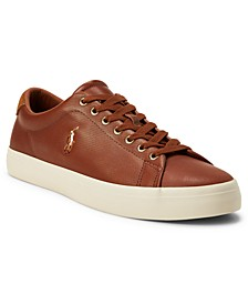 Men's Perforated Leather Longwood Sneaker