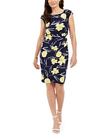 Petra Floral-Print Sheath Dress