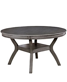Mariposa Solid Wood Round Table