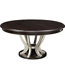 Dalania Solid Wood Round Table
