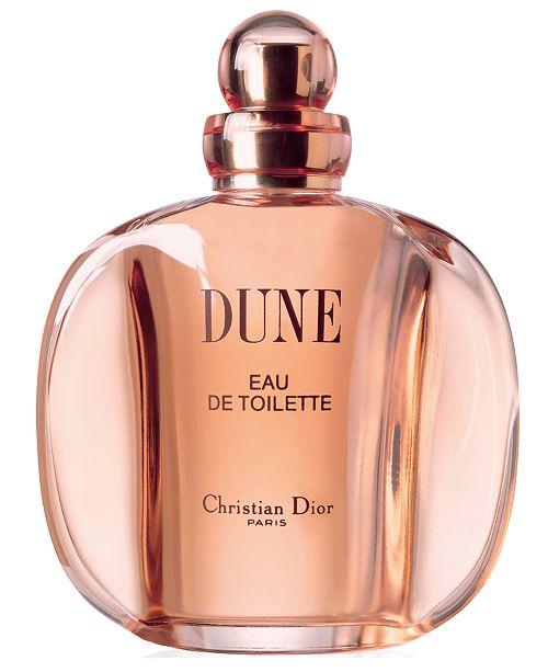 Dior Dune Eau de Toilette Spray, 3.4 oz.