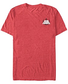 Star Wars Men's Rebel Text Logo Short Sleeve T-Shirt