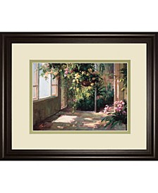 Atriums First Light by Hali Framed Print Wall Art Collection