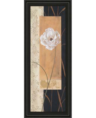 Black and Gold I by Carol Robinson Framed Print Wall Art - 18