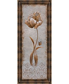 Tulip and Butterfly by Nan Framed Print Wall Art Collection
