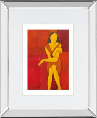 In View of II by Augustine Mirror Framed Print Wall Art, 34