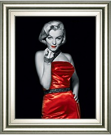 Lady in Red by Chelsea Collection Framed Print Wall Art Collection