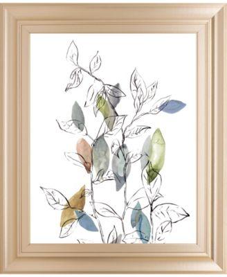 Spring Leaves I by Meyers, R. Framed Print Wall Art, 22