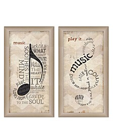 Trendy Decor 4U Music Collection By Marla Rae, Printed Wall Art, Ready to hang Collection