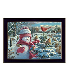 Trendy Decor 4U Snow Baby Grace By Kim Norlien, Printed Wall Art, Ready to hang Collection