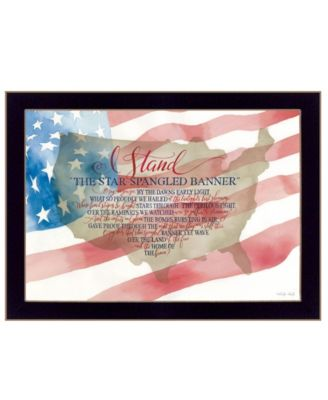 I Stand by Cindy Jacobs, Ready to hang Framed Print, Black Frame, 26