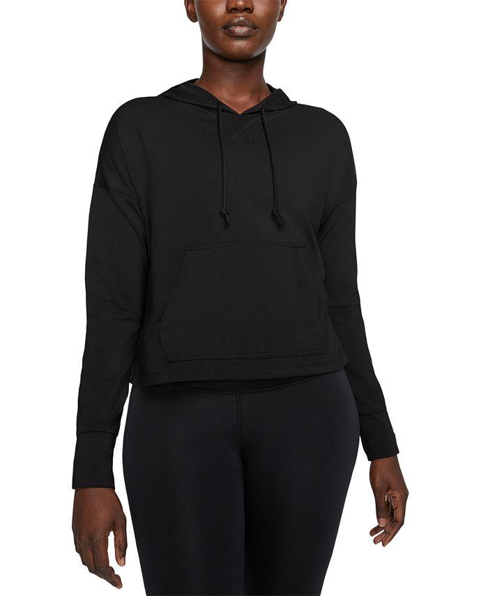 Nike - Yoga Dri-FIT Cropped Hoodie