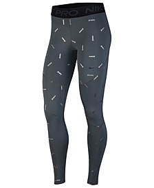 Women's Pro Dri-FIT Metallic-Print Leggings