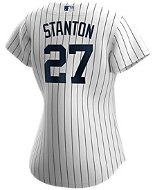 New York Yankees Women's Giancarlo Stanton Official Player Replica Jersey