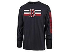 Boston Red Sox Men's Cross Stripe Long Sleeve T-Shirt