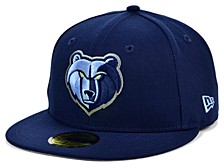 Memphis Grizzlies The Circle Patch 59FIFTY-FITTED Cap