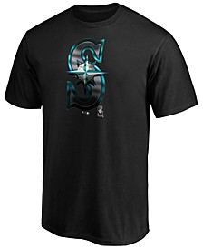 Seattle Mariners Men's Midnight Mascot T-Shirt