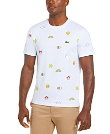 Men's Croco Series FriendsWithYou Limited-Edition T-Shirt with Cartoon Graphics