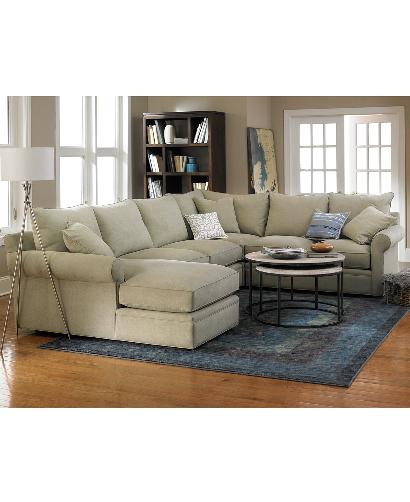 Doss Fabric Sectional Living Room Furniture Collection - Living Room Furniture Sets - Macy's