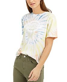 Junior's Tomboy Tie-Dye Graphic T-Shirt