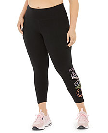 Calvin Klein Performance Plus Size Outline Logo Leggings