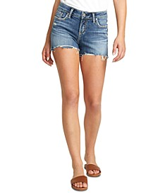 Elyse Cutoff Denim Shorts