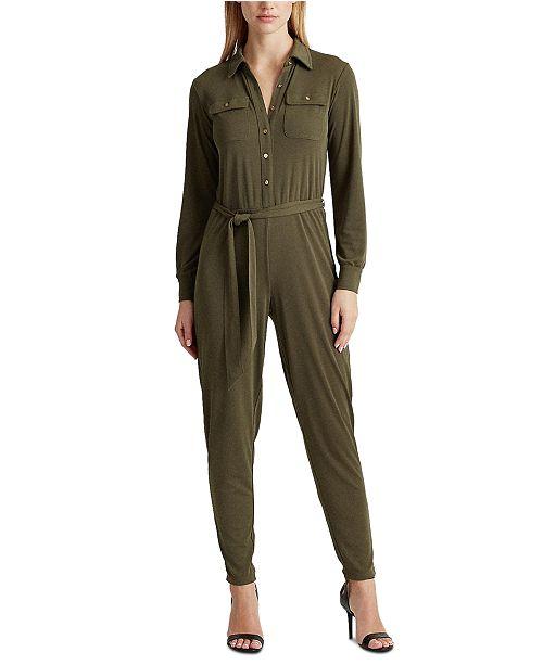 Lauren Ralph Lauren Utilitarian Style Jumpsuit