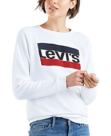 Relaxed-Fit Fleece Graphic Sweatshirt