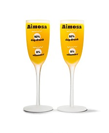 The Real Mimosa Glass - Set of 2