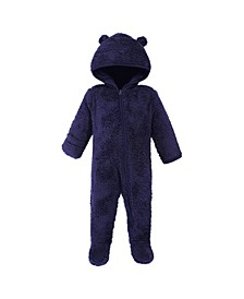 Baby Girls and Boys Bear Fleece Sleep and Play