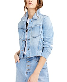Cropped Denim Jacket, Created for Macy's