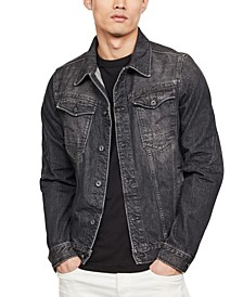 Men's Arc 3D Slim-Fit Denim Jacket, Created for Macy's