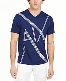 Armani Exchange Men's AX Logo Graphic T-Shirt