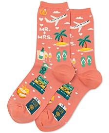 Women's Honeymoon Fashion Crew Socks