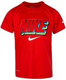 Little Boys Dri-FIT Logo-Print T-Shirt