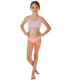 Big Girls 2-Pc. Macrame Bikini