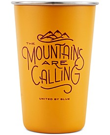 Mountains Are Calling 16Oz Steel Tumbler