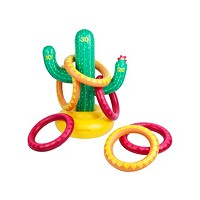 Deals on Sunny Life Inflatable Swimming Pool Ring Toss Game Cactus