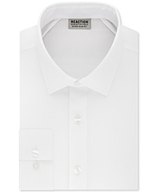 Men's Extra-Slim Fit Non-Iron Solid Dress Shirt