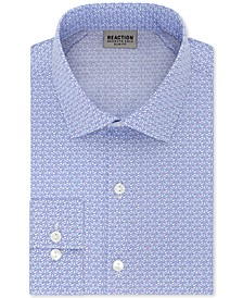 Men's Slim-Fit All-Day Flex Print Dress Shirt