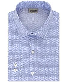 Men's Slim-Fit All-Day Flex Print Dress Shirt