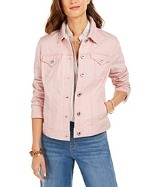 Button-Down Denim Jacket, Created for Macy's