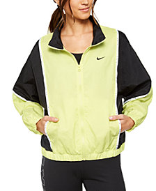 Nike Women's Sportswear Colorblocked Woven Jacket