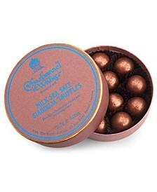 Milk Chocolate Sea Salt Gianduja Truffles