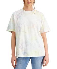 Tie-Dyed Crewneck T-Shirt
