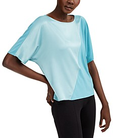 Mixed-Media Colorblocked Top, Created for Macy's