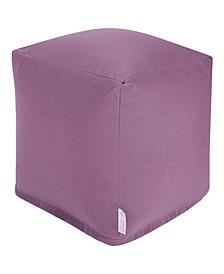"Solid Ottoman Pouf Cube 17"" x 17"""