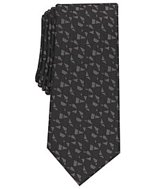 Men's Cross Abstract Necktie, Created for Macy's